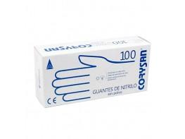GUANTES CORYSAN NITRILO T/GDE 100 UND.